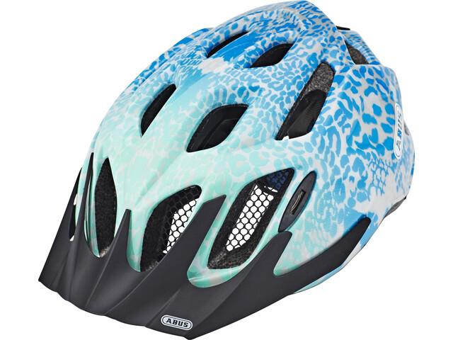 ABUS MountX Helmet Kinder blue animal